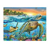 Sea Turtle DIY Diamond Painting Embroidery Cross Stitch Full Needlework Home Decor