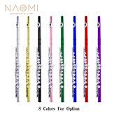 NAOMI Professional Gesloten 16-holes fluit C-sleutel concertfluiten Cupronickel verzilverde fluit
