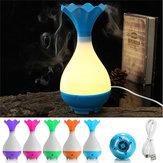 LED diffuseur d'huile essentielle humidificateur d'air à ultrasons purificateur d'aromathérapie lumière nocturne