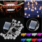 3M 20LED Batteri Bubble Ball Fairy String Lights Hage Fest Christmas Wedding Decor