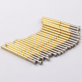 P125-H Plum Probe Nine Tooth Test Needle Test Spring Thimble 100 Pcs/Pack Integrated Detection Probe Tool Accessories  PCB Testing Contact Probes Pin
