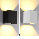 12W Up / Down Wall lampada Applique luce bianco caldo / bianco impermeabile per casa camera da letto AC85-265V