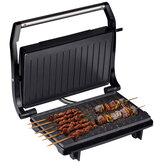 750W Portable Home Grill Electric BBQ Double Sided Smokeless Non-Stick Barbecue Machine Electric Hotplate Grilled Meat Pan Steak Grill Machine
