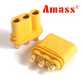 10 paar Amass MR30PB Connector Plug Female & Male