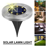 4/8/12/16 LEDs Solar Lawn Light IP65 Outdoor Path Courtyard Recessed Lawn Lamp