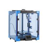 Creality 3D® Ender-6 Verbesserte 3D-Drucker mit kubischer Struktur 250 * 250 * 400 mm Großdrucker Markennetzteil / Ultra-Silent Mainrboard / Carborundum-Glasdruckplattform / 4,3-Zoll-HD-Farb-Touchscreen / Filament-Run-Out-Sensor-Unterstützung Lebenslau