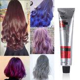 Saç Boyası Tonu Yarı Kalıcı Saç Boyama Kremi 6 Renkler Saç Bakım Şekillendirici Aletler Kadın / Erkekler 100 ML