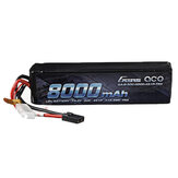 Gens ace 14.8V 8000mAh 50C 4S Lipo Batería Enchufe TRX para RC Coche
