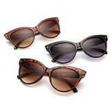 Women Cat Eye Vintage Polarized Leopard Sunglasses
