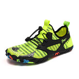 Men Breathable Sneakers Outdoor Hiking Slip Resistant Lightweight Climbing Shoes