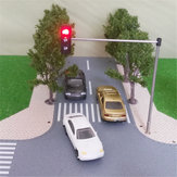 HO OO Scale Traffic Light Signal Model Tog Arkitektur Crossing Walk Street Block Signals