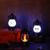 LED Portable Retro Electronic Skeleton Light Smoke-free Wedding Party Halloween Props Decoration Light Halloween