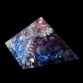 Himalaia Pedra Orgone Pyramid Gerador de Energia Torre de Decoração Para Casa Reiki Cura Cristal