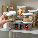 Storage Jars Sealed Ring Boxes Kitchen Storage Bottles Transparent Food Canister Keep Fresh Clear Container for Kitchen Organizer
