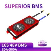 DALY BMS 16S 48V 80A 100A 120A 500A 3.2V LifePo4 18650 BMS Battery Protection Board with Balanced Lithium Battery Module