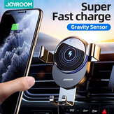 Joyroom 15W Qi Wireless Charger Car Phone Holder Wireless Charger Car Mount Smart Infrared Sensor for Air Vent Mount / Dashboard Mobile Navigation Bracket For iPhone for Samsung Huawei Xiaomi Stand