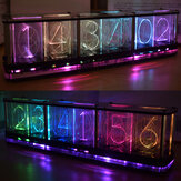 Kit Spektrum Musik LED Geekcreit® DIY Tiru Jam Penuh Warna RGB Glow Tube Clock