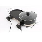 AU Electric Teppanyaki Barbecue BBQ Grill Hotpot Table無煙プレート