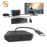 JYS-NS200 Keyboard Mouse Converter for Nintendo Switch for Xbox One X S for PS4 PS3 Gamepad Keyboard Mouse Controller Adapter