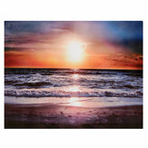 30*40 cm Sunset Beach Sofa Canvas Painting Wall Hanging Picture Canvas Home Office Wall Decoration no Frame