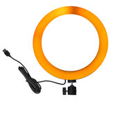 10.3 inch RGBW Full Color LED Ring Light Mackup Invullicht voor fotografie Selfie Vlog Youtube Live Broadcast Mobiele telefoon Camera Foto 200 LED-lampkralen