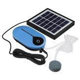 Solarbetriebener Oxygenator Wasser Sauerstoff Pumpe Teichbelüfter Aquarium Luft Pumpe