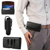 Couro sintético masculino telefone de 7,2 polegadas Bolsa cintura Cinto Bolsa pacote de cintura com suspensão Cinto alça