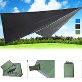 260x320cm Tenda da sole per esterno a prova di UV con rivestimento in argento Protezione da sole Schermo da sole Tenda da sole per campeggio Escursionismo