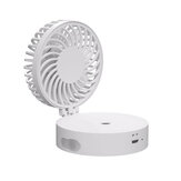 Mini Portable Cooling Fan USB Rechargeable Folding Humidifier Fan Water Sprayer Fan For Home Office