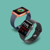 [Rilevamento della temperatura corporea] Bakeey QS19 BT5.0 Full Touch Screen HR Monitor della pressione sanguigna dell'ossigeno 23 Modalità sport Promemoria messaggi APP multipli Smart Watch