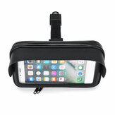 6.3inch Waterproof Phone Holder Motorcycle Bike Handlebar Bag GPS Bicycle Mount Case