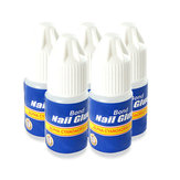 5 X 3g nail art pro falso manicure colla punta del chiodo del gel