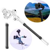 350mm 13.8 Inch Carbon Extension Stick Rod with 1/4 3/8 Adapter For DJI Ronin-S Handheld Gimbal