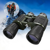 60x50 Exército Militar Zoom Poderoso Telescópio HD Caça Camping Binóculos de Visão Noturna