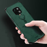 Bakeey for Xiaomi Redmi Note 9S / Redmi Note 9 Pro / Redmi Note 9 Pro Max Case Deer Pattern with Airbag PU Leather Shockproof Protective Case Non-original