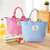 Honana CF-LB080 Woman Lady Mom Lunch Tote Bag Travel Picnic Handheld Food Storage Holder Container