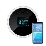 DIGOO DG-ZXGS21 Rilevatore di fughe di gas Smart WIFI APP remoto Sensore di allarme gas di allarme Funziona con l'APP Digoolife Smartlife Tuya