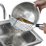 Stainless Steel Fry Pasta Vegetable Drainer Strainer Dishwasher Safe
