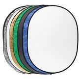 7 en 1 diffuseur de lumière réflecteur rond multi-disque + sac pour la photographie portable