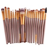 20Pcs Professional Makeup Brushes Cosmetic Synthetic Hair Brushes Kit Set