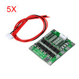 5Pcs 4S 30A 14.8V Li-ion Lithium 18650 Battery BMS Packs PCB Protection Board Balance