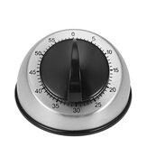 Temporizador de cocina mecánico Temporizador de cocina de acero inoxidable Temporizador de cuenta regresiva de 60 minutos Analógico Reloj