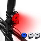 BIKIGHT USB LED Fahrrad Rücklicht 100lm 3 Modi Einstellbare Fahrrad Warnlampe Rücklicht Radfahren Rear