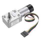 MachifitJGY-370DC24VMotor Engrenagem de Redução Turbina Worm Auto-bloqueio Encoder Sinal de Feedback Motor