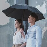 90Fun 8K Automatic Reverse Folding Umbrella Led Luminous Windproof Wind Resistant Umbrella UPF50+ Anti UV From