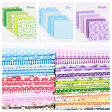 7PCS Quilting Bundle Patchwork Cotton Fabric handmade DIY Sewing Floral Crafts