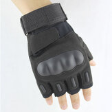 Custom-made Motorcycle Gloves Climbing Tactical Gloves Riding Semi-finger Gloves