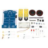 D2-1 Kit de Seguimiento Inteligente del Coche 3V Kit de Coche Inteligente Pequeño de DIY