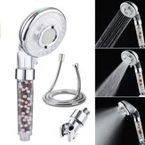 High Pressure Handheld Ionic Filter Shower Head Hose Holder Bathroom Healthy