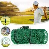 2M x 2M Golf Practice Net Nylon Sangles de filet faciles à fixer Bordure de corde nette Filet à mailles résistant aux chocs